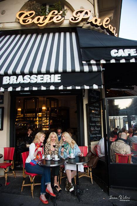 фотосессия в Париже для 3х подруг