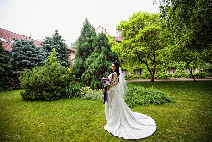 Нежная свадебная фотосессия в июне