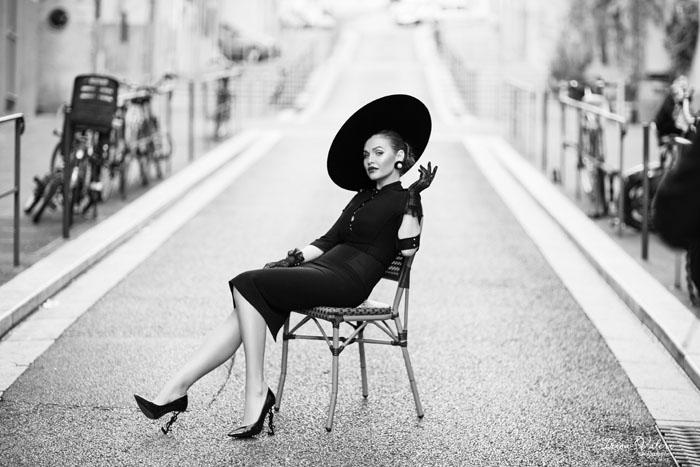 Ретро фотосессия в улочках старой Ниццы