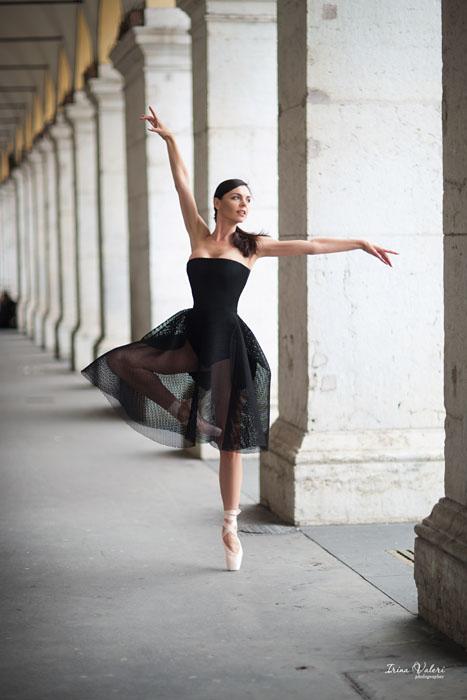 Фотосессия в Ницце для балерины