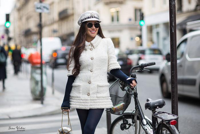 street style фотосессия в Париже