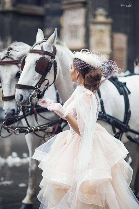 фотосессия для шоурума свадебных платьев г.Вена