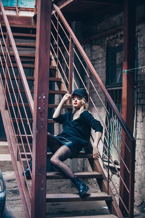 фотосессия в стиле Париж и Ньйорк