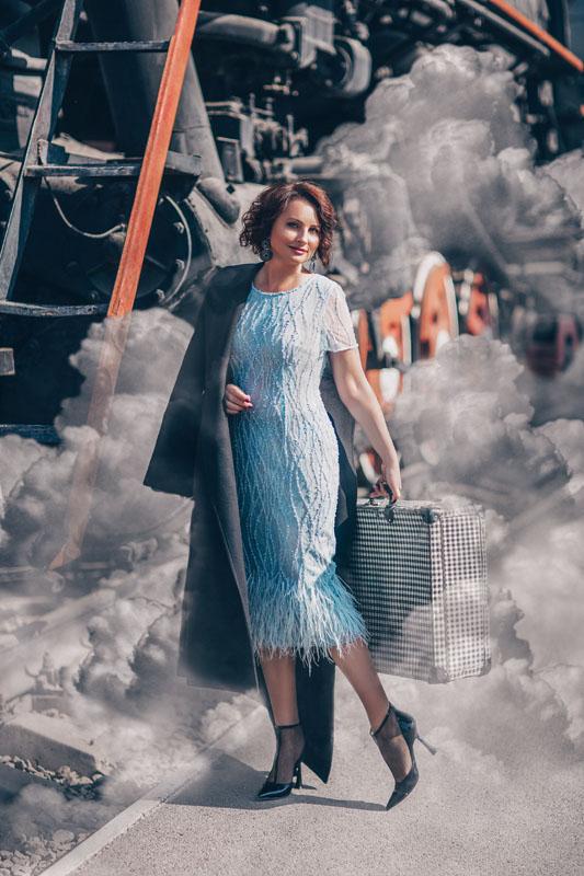 современная Анна Каренина (для журнала Дорогое удовольствие)
