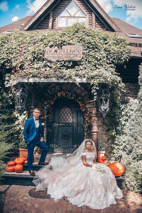 свадебная фотосессия Old house